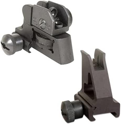 Global Military Gear AR-15 Detachable Front and Rear Sight Set
