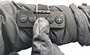 Chubby Buttons 2- Wearable & Stickable Bluetooth 5.1 Remote for iPhone & Android | Big Buttons for Glo