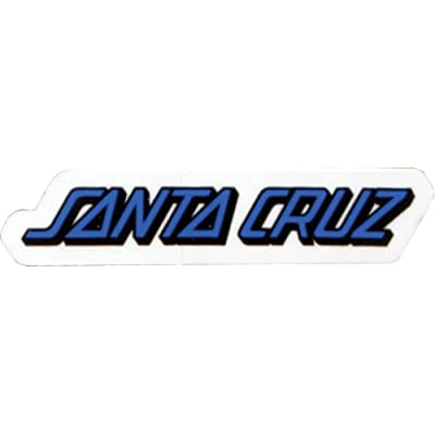 "Santa Cruz Classic Strip 5"" Decal Skateboarding Stickers and Decals: Arts, Crafts & Sewing"
