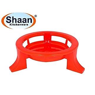 Shaan Plastic Glister Multipurpose Plant Pot Stand 41h UUDekmL