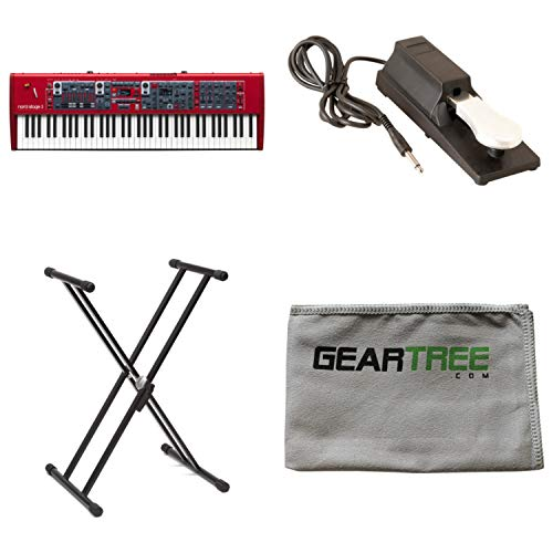 Nord Stage 3 HP76 76-key 76-note Hammer Action Portable Keybed w/Sustain Pedal,