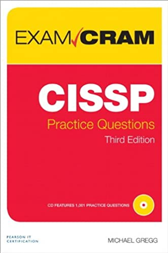 amazon com cissp practice questions exam cram 3rd edition rh amazon com