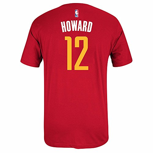 adidas Dwight Howard Houston Rockets Red Jersey Name and Number T-shirt Large