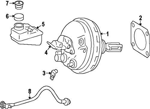 Mercedes-Benz 166 430 01 02, Brake Master Cylinder Reservoir