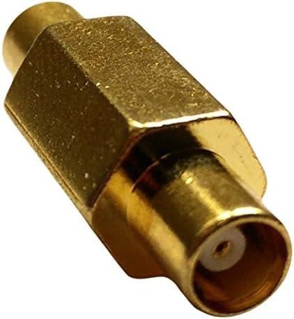adaptare 61091 Adapter MCX-Buchse / MCX-Buchse