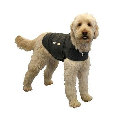 ThunderShirt Dog Anxiety Jacket, Heather Gray, Large