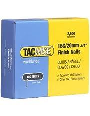 Tacwise 0665 nagels verzinkt 16G/20mm (2.500 stuks)