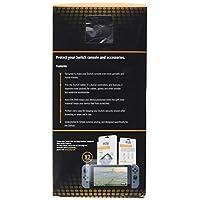 Protectores de pantalla Orzly Glass compatibles con Nintendo Switch - Protector de pantalla de vidrio templado premium PACK TWIN [2x Screen Guards - 0.24mm] para pantalla de tableta de 6.2 pulgadas en la consola de Nintendo Switch