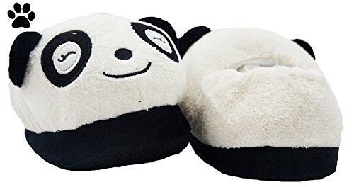 de mujer 6 por taglia algodón para casa unica Zapatillas Modelo PELUCHE estar de Tw4qx