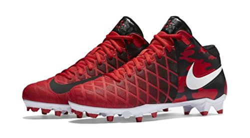 Image of NIKE Mens Field General Pro TD Football Cleats (11 D(M) US, University Red)