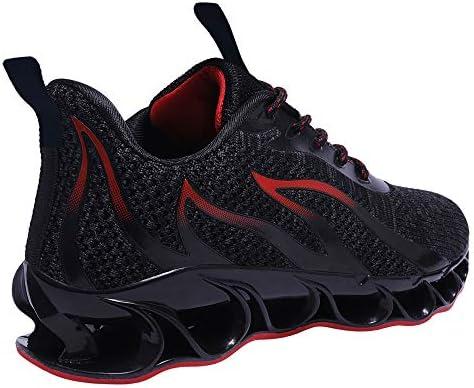 41h Xj4vqzL. AC TIAMOU Men Running Walking Shoes Sport Athletic Wihte Jogging Sneakers    Product Description