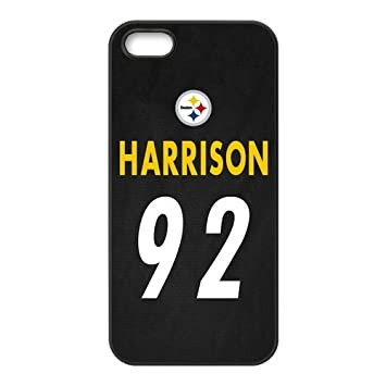 cozy fresh 03e28 a302d NFL Pittsburgh Steelers James Harrison #92 Jersey: Amazon.co ...