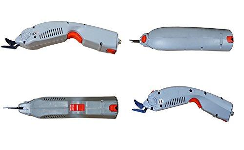 New Industrial Fabric Cutter Fiber Clothing Scissors Power Sewing Scissors AC100-240V