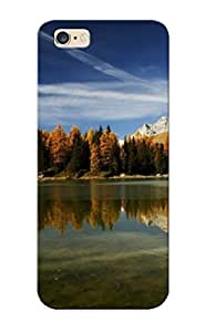 YuBATmb1958CeDfe Snap On Case Cover Skin For Iphone 6 Plus(clear Mountain Lake Reflecting The Trees)/ Appearance Nice Gift For Christmas