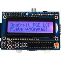 ADAFRUIT INDUSTRIES 1109 RGB POSITIVE 16X2 LCD + KEYPAD KIT, RASPBERRY PI