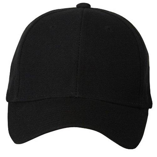 0991187fa17 Magic Fitted Cap-Black W35S57F at Amazon Men s Clothing store  Baseball Caps
