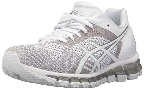ASICS Womens GEL-Quantum 360 3 Running Shoe,White/Snow/Silver,US 8.5 B