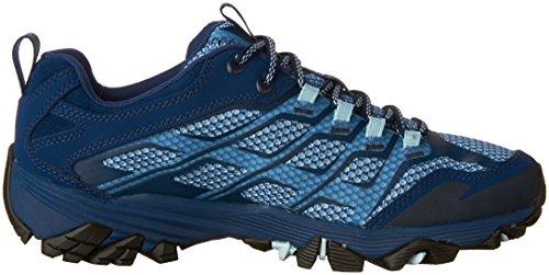 Merrell Marina Merrell Blu Moab delle donne FST scarpe escursionismo Moab zzwTqxrg7