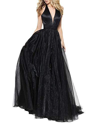 ... Backless Evening Gowns Floor Length Tulle Prom Dresses Long Formal Women  E138. related-product. Sarahbridal Long Sequins Prom Dress Womens Evening  Party ... c908b8499