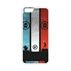 Personalized Durable Cases iPhone 6 4.7 Inch Cell Phone Case White twenty one pilots logo Trwdqv Protection Cover