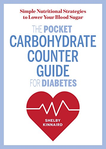 The Pocket Carbohydrate Counter Guide for Diabetes: Simple Nutritional Strategies to Lower Your Blood Sugar cover