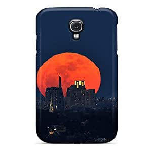 MMZ DIY PHONE CASEHot Snap-on New Moon Over Boston Hard Cover Case/ Protective Case For Galaxy S4