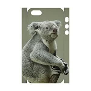 D-PAFD Cell phone Protection Cover 3D Case Koala For Iphone 5,5S