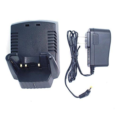 GoodQbuy® Ni-MH Ni-CD Battery Charger For Yaesu/Vertex STANDARD HORIZON Radios FNB-V57 FNB-V57H FNB-64 FNB-64H FNB-V64 FNB-V83 FNB-83 FNB-83H FNB-V94 VAC-20G VAC-10G VAC-400