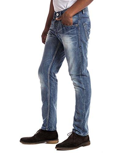 Wash Jeans Blu 3828 Uomo Da Timezone blau light Gerrittz Blue gZvxqw8A