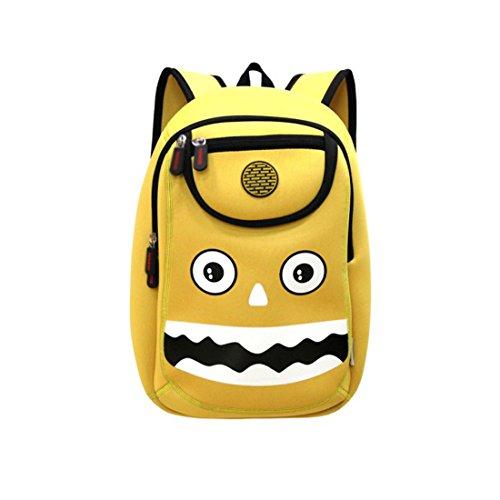 Nohoo 3D Monster Kids Backpack Cartoon Preschool Toddler Bag
