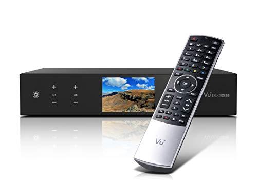 VU+ Duo 4K SE BT 2X DVB-T2 Dual Tuner PVR Ready Linux Receiver UHD 2160p