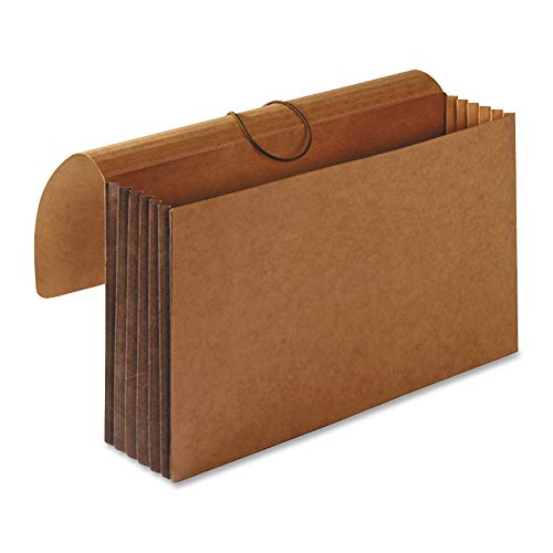 Business Source File Wallet, Brown (26576) (Tyvek Wallet Expandable)