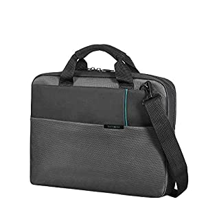 Samsonite – Qibyte Laptop Bag, M (44cm – 11L) – Anthracite