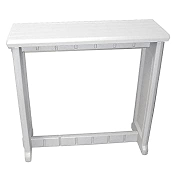 Leisure Accents Spa Bar and Counter, Gray/Beige, 36 Inches Long by 36 Inches High
