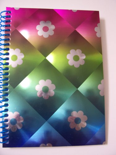 Petal Continental - University of Style Illuminate Spiral Notebook ~ Flower Petals (8
