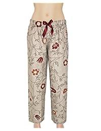 Armani International Frederica Linen Lounge Sleep Pants M, L, XL | Made in Europe