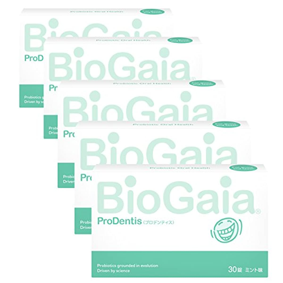 [해외] 바이오가이아 프로덴티스 구강유산균 L (30개입X5개)