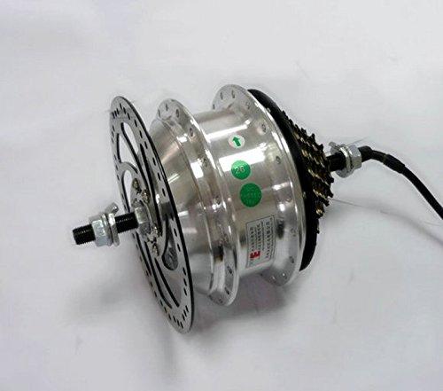 36ボルト48ボルト250ワット電動自転車リアホイールハブモーター電動自転車電動バイクスポークモータ電動ハブモーターでできるフライホイール [並行輸入品] B0796Q9ZRT 48V H04A 48V H04A