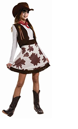 Clown Cutie Costumes Child (Cowgirl Cutie Western Rodeo Child)