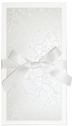 - Intricate Paisley Shimmer Baby Shower Invitations - Set of 20