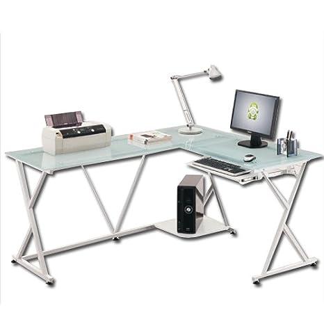 WEBMARKETPOINT Scrivania angolare portacomputer per ufficio ...