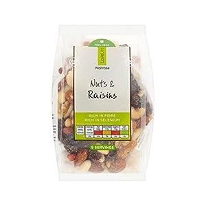 Mixed Nuts & Raisins Waitrose Love Life 270g - Pack of 2