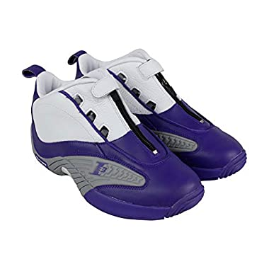6724b97baee822 Reebok Men s Answer Iv Pe Cross Trainer Team Purple Flat Grey White 10 M