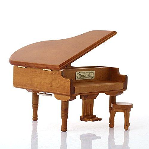 Wukong Triángulo de madera Piano caja de música
