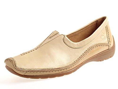 GABOR Mocasines 82.506 Zapatos piel zapatos zapatos mujer cuero beige RHODES