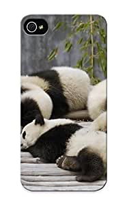 Christmas Gift - Tpu Case Cover For Iphone 5/5s Strong Protect Case - Animal Panda Design