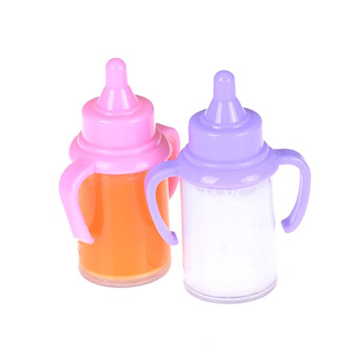 1pcs Dummy Pacifier Random Magnetic Feeding Bottle Doll Toy Accessories