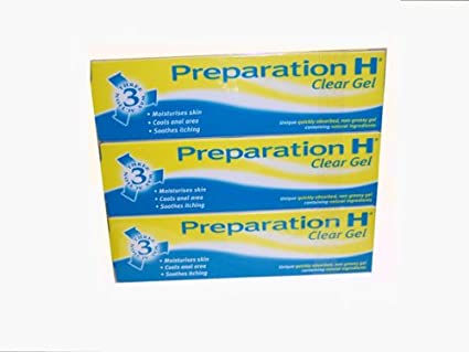 Preparation H Gel Transparente (PACK DE 6) 50g
