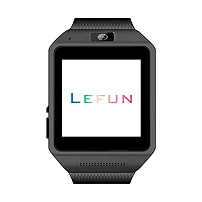 LeFun Gear S Bluetooth Smart Watch Wristwatch Phone Mate for Android and IOS Iphone(Partial Functions) Smartphone