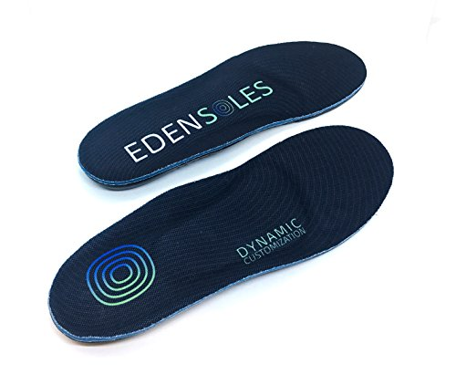 Edensoles - The only inserts that shape to your feet, step after step. (Thinner Model Medium Men 8-10.5. Women ()